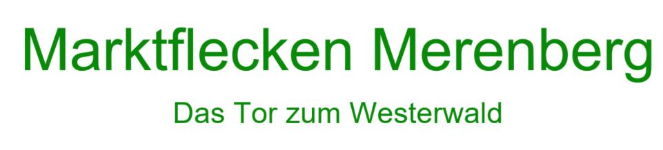Schriftzug Merenberg